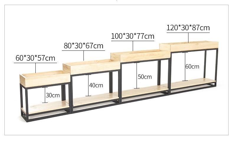 Kệ khung sắt + hộp gỗ trồng cây GHK-292 đẹp ngất ngây con Gà Tây đấy ạ