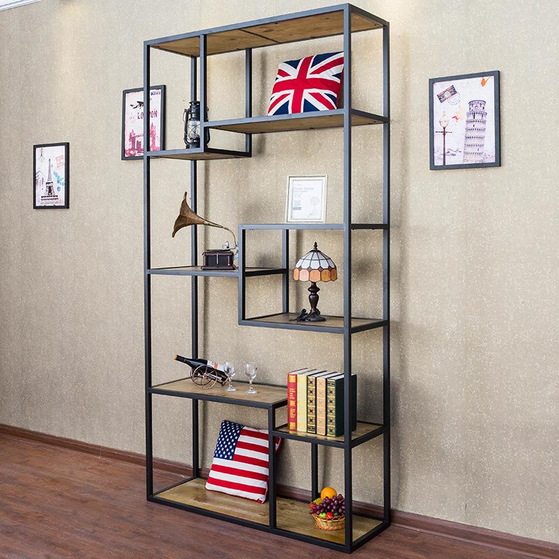 Kệ trang trí khung chân sắt mặt gỗ GHK-264 giá Tốt nhất TpHCM
